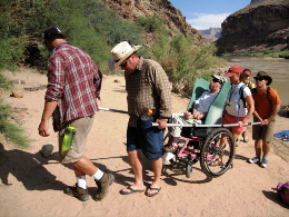 People with Disabilities go Grand Canyon Rafting