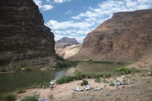 Camping in the Grand Canyon with AZRA