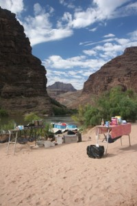 Kitchen Camping in the Grand Canyon