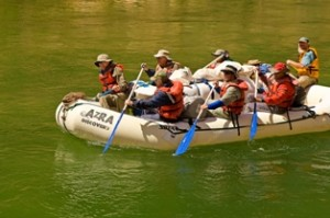 The Paddle Raft on the Grand Canyon Classic Adventure,Grand Canyon National Park Arizona