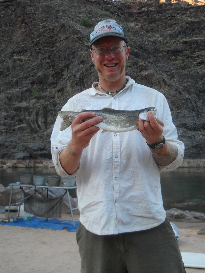 Grand canyon fishing arizona raft adventures for Fishing in az