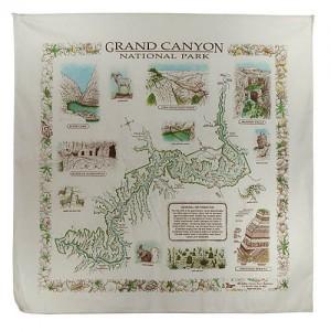 Grand Canyon Flora & Fauna Map