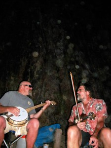 Musicians on Grand Canyon Music Adventure Classic Trip