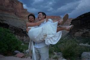 Grand Canyon Rafting weddings
