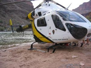 medical helicopter evacuation