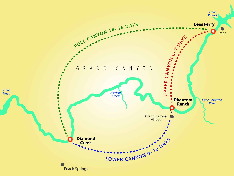 AREA MAPS - Arizona Raft Adventures