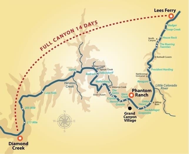 Paddle Full Canyon