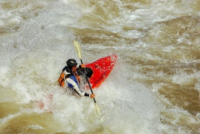 Kayak in Grand Canyon