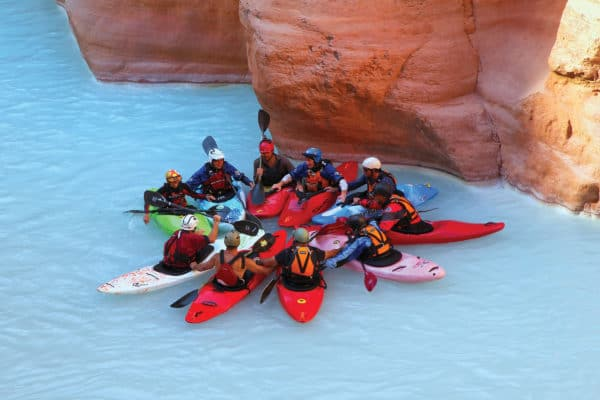 Kayak in Grand Canyon