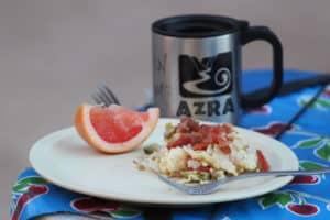 migas camping breakfast recipe