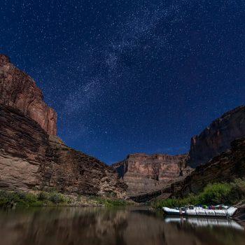 Beautiful Night Sky in Grand Canyon