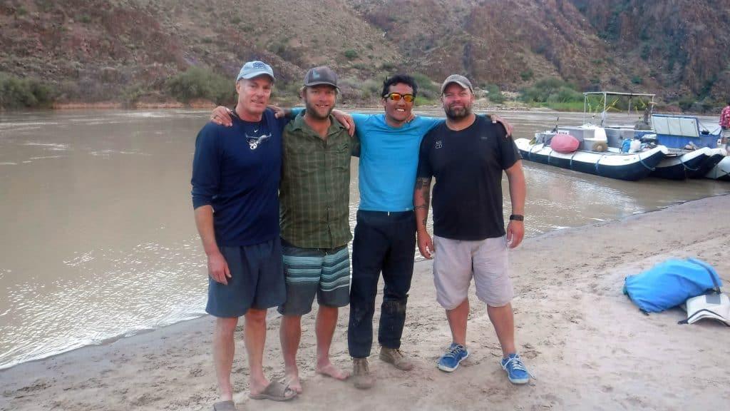 Team River Runner Kayaks Grand Canyon Blind
