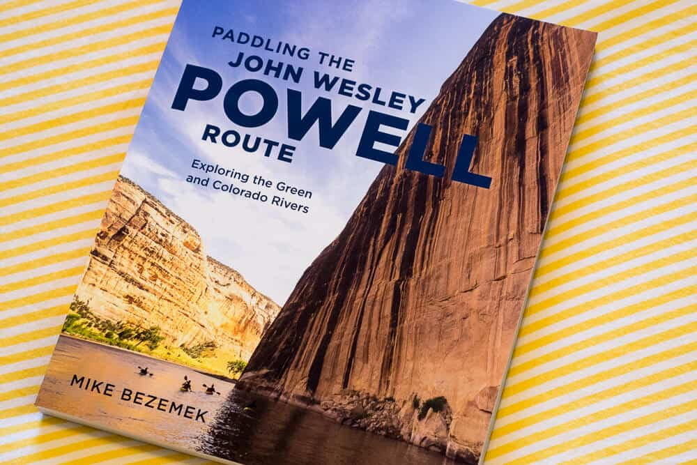 Paddling the John Wesley Powell Route Book Cover