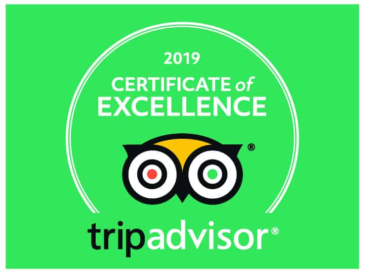 Arizona Raft Adventures Trip Advisor 2019 Certificate of Excellence