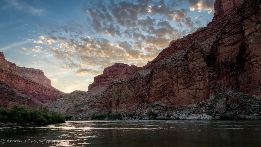 Sunrise on the Colorado River by Andrew Padyk